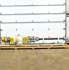 Mo 2892 Progressive Cavity Pump 20 Hp 1165 Rpm 1 34 In 3 34 Out