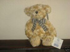 Princess Toys Teddy Bear ~ Lil Chauncey ~ Mint MWT Honey Beige with Check Ribbon