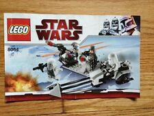 2018 Lego Instruction Manual: Star Wars Snowtrooper Battle Pack Set 8084