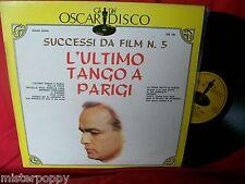 L'ultimo Tango a parigi Successi da Film LP 1970s ITALY MINT- MARLON BRANDO