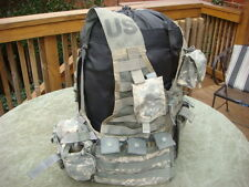 MOLLE II ACU FLC Vest with 2 Triple Mag + 2 Grenade + 2 canteen Pouches