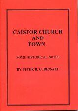 CAISTOR CHURCH AND TOWN BY PETER B G BINNALL LINCOLNSHIRE 1934