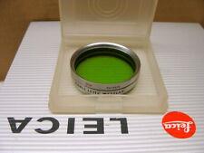 """Leitz Wetzlar - Leitz Leica Filter UVa + Grünfilter """"E36 top boxed"""" - RAR!"""