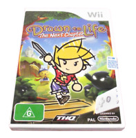 Drawn To Life The Next Chapter Nintendo Wii PAL *Complete* Wii U Compatible