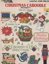 Leisure Arts 432 CHRISTMAS CABOODLE Mini Series #4 1986 Holiday Mini Patterns