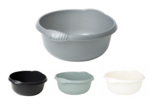 Wham Plastic Round Colorful Washing Up Bowl Kitchen Basin Sink 28cm