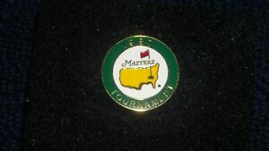 1997 MASTERS GOLF AUGUSTA NATIONAL BALL MARKER PGA TIGER WOODS 1ST MASTER'S WIN!