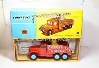Corgi 1121 Chipperfields Circus Crane Truck In Its Original Box - Near Mint 60s