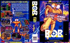 B.o.b bob 2 sega genesis ntsc remplacement box art case insert reproduction