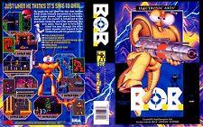 B.O.B BOB 2 Sega Genesis NTSC Replacement Box Art Case Insert Reproduction