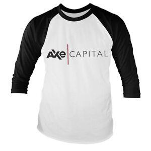 Officially Licensed Billions - AXE Capital Long Sleeve Baseball T-Shirt S-XXL