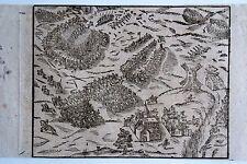44-53-1 Cosmographie Sébastien Munster Thiers bataille contre les anglais 1411