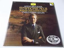 37861 - BRUCKNER - SYMPHONIE NO. 8 (GIULINI) - 1985 DGG DOPPEL VINYL LP (FOC)