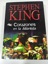 STEPHEN KING HEARTS EN LA ATLANTIS BOOK RBA 535 PAGS 2003 COVER HARD