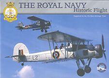 Opuscolo the Royal Navy Historic Flight, Swordfish, Sea Hawk, RARO, RARE!