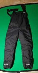 Vintage Polaris Snowmobile Overall Bib Pants Womens Small Made in USA Nice Shape
