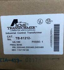 New OEM Acme Transformer TB-81212 Encapsulated Industrial Control Transformer