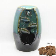 Mountain River Handicraft Incense Burner Holder Backflow Ceramic Burne Censer