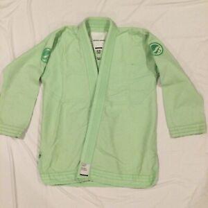 Shoyoroll Mint Pastel Green Size A1L Kimono Training Jacket EXP SERIES - EUC