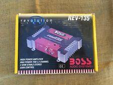 BOSS Revolution Series REV-135 High Power Amplifier 75W x 2 Channel