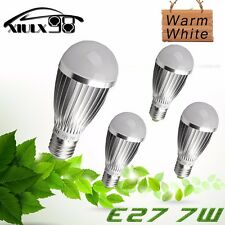 4PCS E27 E26 High Power 7W Pure White 5730 14SMD RV Boat Marine LED Lamp Lights