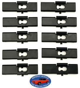 80-92 Cadillac Body Belt Reveal & Vinyl Top Molding Moulding Trim Clip 10pcs L
