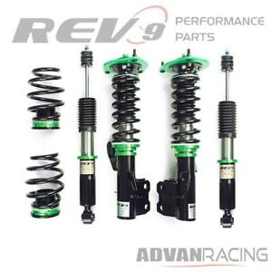 Hyper-Street ONE Lowering Kit Adjustable Coilovers For Nissan Versa (C11) 07-12