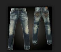 AFFLICTION Mens Denim Jeans ACE FLEUR NASHVILLE Embroidered BKE Buckle $135 NWT