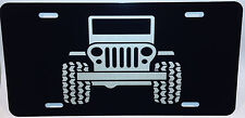 Auto License Plate  Jeep graphic truck car tag Aluminum
