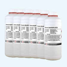 Formic Acid 85% Pure 6 x 1 Litre  **Ideal for European Shipments **