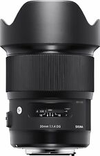 Sigma 20mm F1.4 DG HSM Lens compatible with Canon
