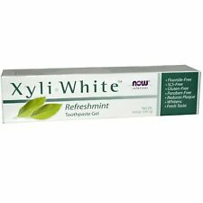 Now Foods Solutions XyliWhite Toothpaste Gel Refreshmint - 6.4 oz FLUORIDE FREE