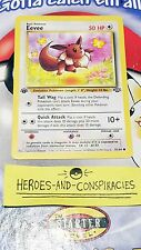 Pokemon Cards - 1st Edition Eevee #51/64 JUNGLE set [EX+] (1999)