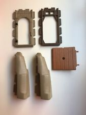 Playmobil lot of 5 Spare / Replacement Parts for Steck Castle Sets, Light Gray