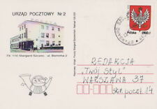 Poland card STARGARD SZCZ. Post Office