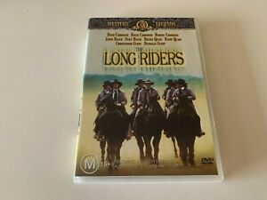 The Long Riders DVD Region 4 RARE
