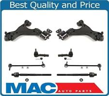 Fits 09-17 Traverse Lower Control Arm Ball Joint Bracket W Bushings Tie Rods 8Pc