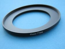 55mm to 77mm Step Up Step-Up Ring Camera Lens Filter Adapter Ring 55mm-77mm