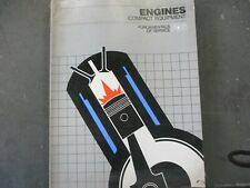 John Deere Fundamentals of Service Engines Compact Equipment Manual 1982