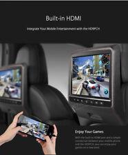 "2x 9"" LCD Schwarze Kopfstütze Auto DVD Video Player mit HDMI USB Spiele Tragbar"