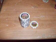 (90) Official Las Vegas Tournament Poker Chips Lot $1 $5 $25 $50 $100