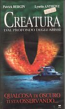 Creatura dal Profondo degli Abissi (2002)  VHS CVC Patrick Bergin Lysette Anthon