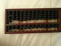 Abacus Cinese, Pallottoliere,  Vintage