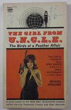 GIRL FROM UNCLE #1 BIRDS OF A FEATHER AFFAIR MICHAEL AVALLONE 1966 SIGNET PB TV
