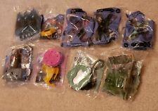 Lot of 9 Marvel Burger King Toys SEALED