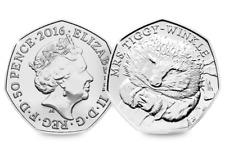 2016 UK Mrs Tiggy-Winkle CERTIFIED BU 50p [516J]