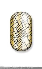 Minx Foil Nail Cover Nail Art Sticker Manicure Wraps Shiny Gold Camouflage New