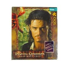 NEW Pirates Of The Caribbean Dead Man's Chest 300 Piece Jigsaw Puzzle w/ Poster