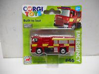SCANIA FIRE ENGINE RED #46 CORGI TOYS TY669