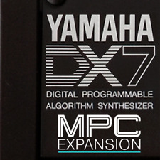 Yamaha DX7 Expansion Pack Akai MPC X Live Force Touch One (71 instruments)
